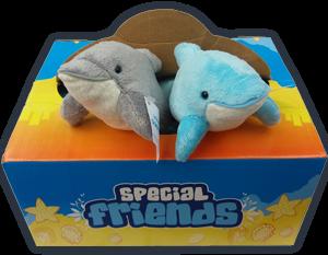 Dolphin cuddly toy