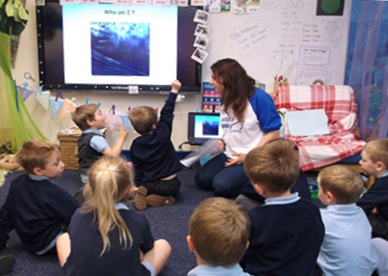 The Magic Dolphin in the classroom